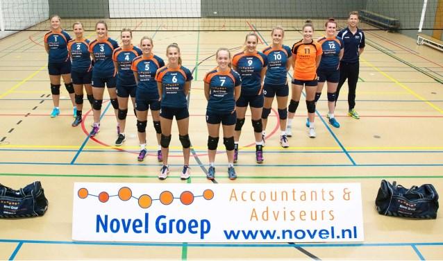 De Hofnar-Bovo dames 1 sluiten het seizoen goed af. (foto: Bas van der Bend)