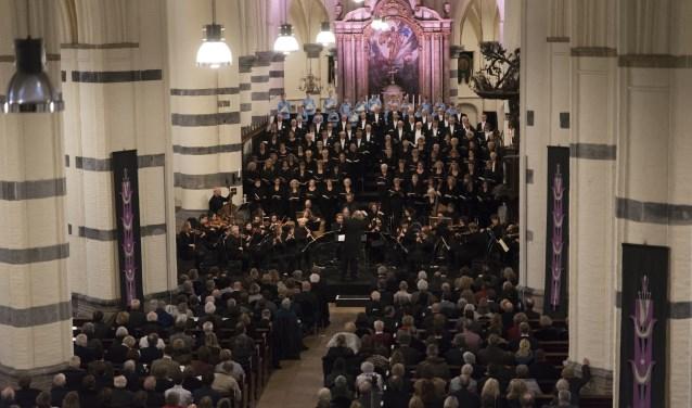 Op woensdag 17 april zal in de basiliek voor de vijftiende keer de Matthäus Passion van J. S. Bach klinken,