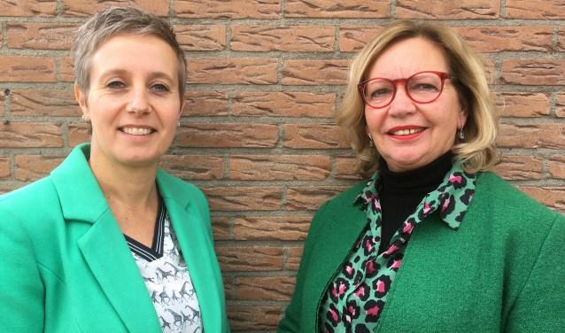 Sinds 1 april is Mariëlle Horsting (links) de nieuwe voorzitter van het Filmhuis. Zij volgde Brigitte Huldman op. (foto: Karin van der Velden)