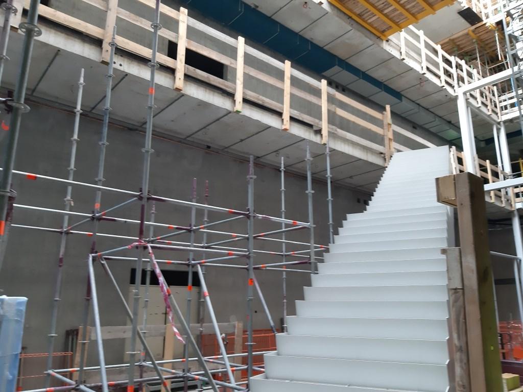 De eerste trap zit er al in!  © Persgroep