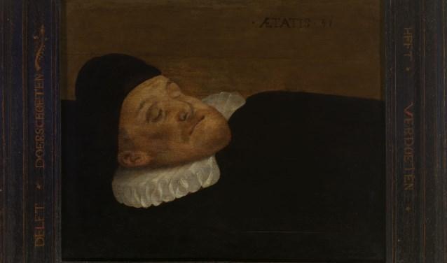 Willem van Oranje geschilderd door Cristaen Jansz. van Bieselingen. Collectie Museum Prinsenhof Delft. Foto Tom Haartsen.