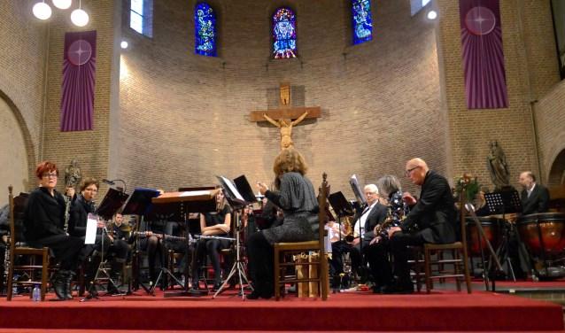 Het orkest van de Stedelijke tijdens het Kerstconcert
