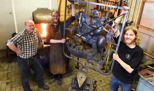 Vlnr: Paul Klaassen, Frederik Philipsen en Jurjen Roerdinkholder. (foto: Roel Kleinpenning)