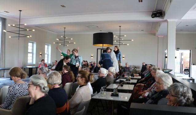 Zo'n 150 medewerkers en vrijwilligers van zorgcentrum Anker namen deel aan de inspiratiedag.