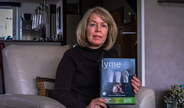 Ingrid Bunschoten start crowdfunding voor behandeling van chronisch Lyme. (Foto: Daniël Westrik)