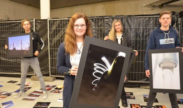 De tentoonstelling met het werk van Sem Makata, Amber de Jong, Zoey Snijders, Nick Evertzen en hun klasgenoten wordt 15 april geopend