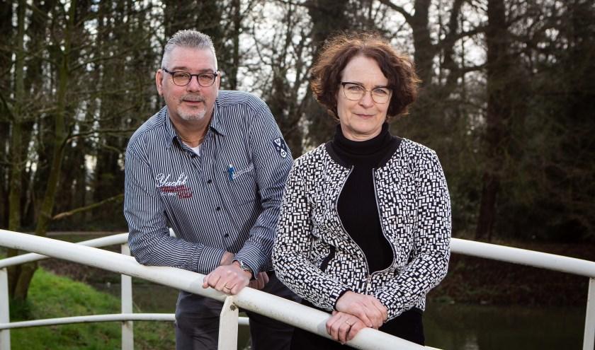 Cees van der Weerd en Loes van de Craats van de gemeente Stichtse Vecht. Foto: provincie Utrecht/Rick Huisinga