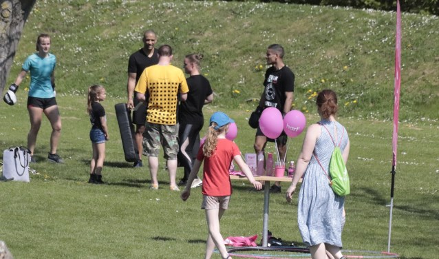 De Culemborgse sportverenigingen presenteerden zich bij Sport op het Fort aan Werk aan het Spoel.