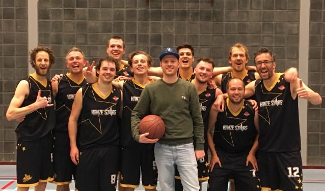 Hanze Stars viert het kampioenschap van de Heren-1 met een speciale actie