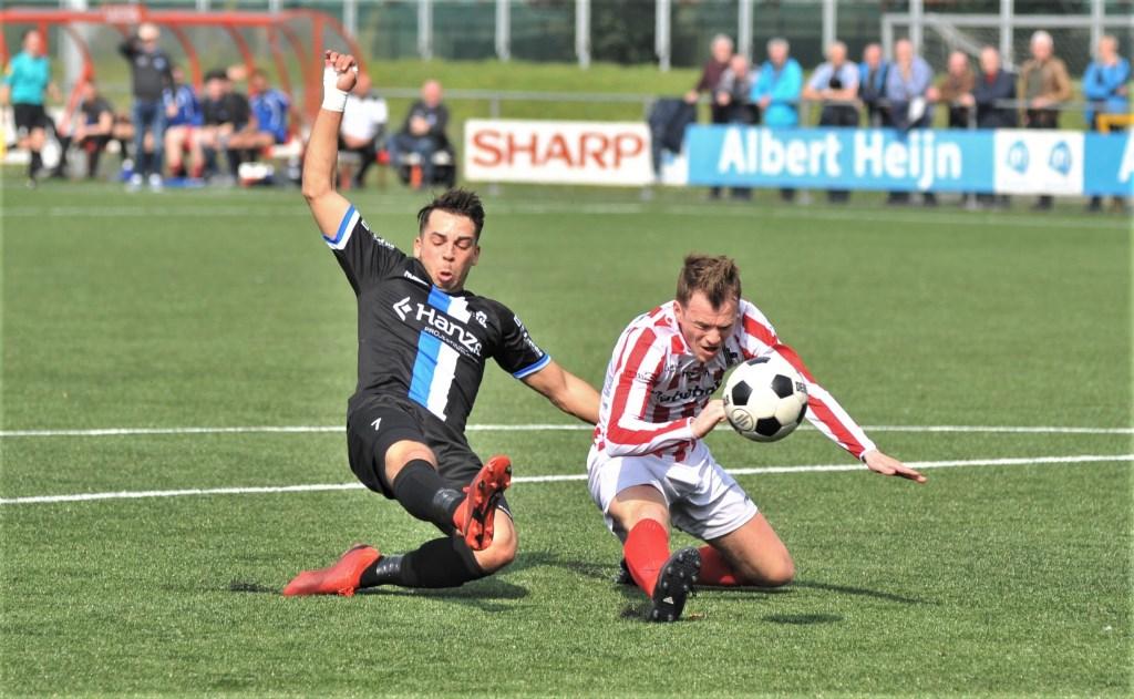 Bennekom had het bepaald niet moeilijk tegen KHC en won met 6-0.  © Persgroep