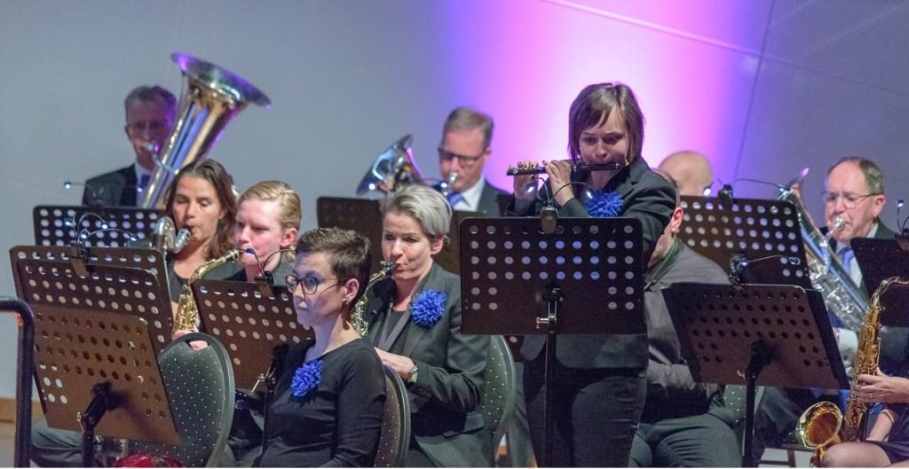 Maaike van Saane geeft solo tijdens voorjaarsconcert Ons Genoegen Foto: Gerard-Jan Gerritsen © Persgroep