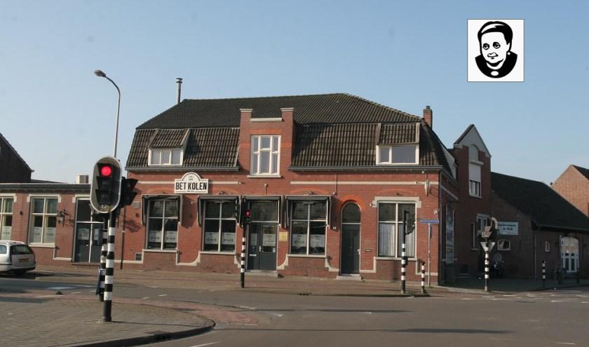 Dit gemeentelijk monument staat bekend als Café 'Bet Kolen' maar is inmiddels ook partycentrum. De makers van lettertype TilburgsAns hebben van 'Bet Kolen' een pictogram (inzet) gemaakt.