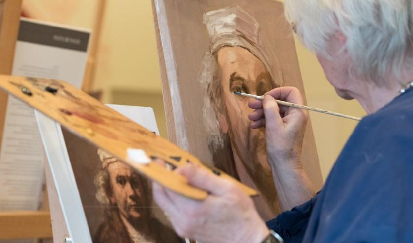 Maak ook eenkunstwerk geïnspireerd door Rembrandt.