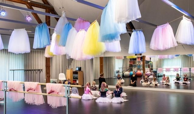 Docente Judith Vrieling start na de meivakantie met klassieke balletlessen voor kinderen bij het Pieck in Drunen.