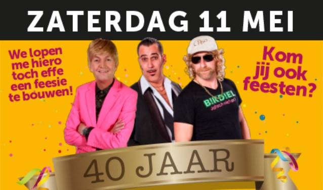 Top Winkelcentrum De Terp 40 jaar; groot feest op zaterdag 11 mei #EU63