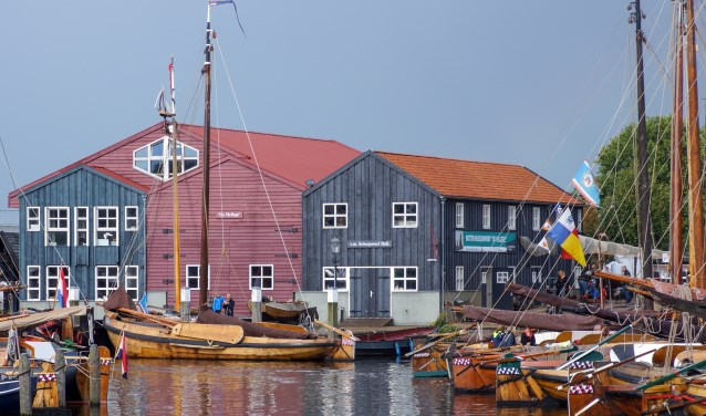 Werf, museum en helling van de Botterstichting Elburg aan de haven van Elburg. (Foto: Botterstichting Elburg)