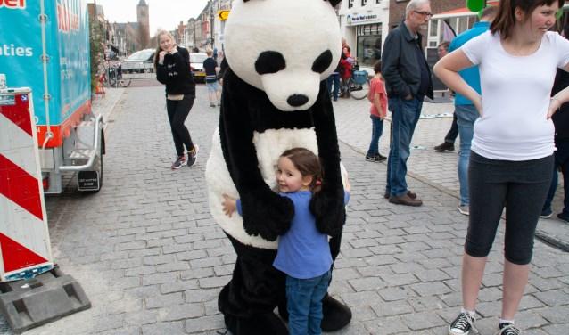 Natuurlijk was er ook de bekende Panda, die bij sommigen wel héél erg in trek was. Foto: Jacques Stam