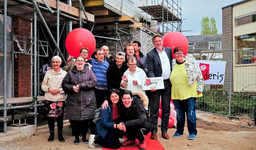 De toekomstige bewoners zijn blij met de nieuwe locatie aan de Bantuinweg!