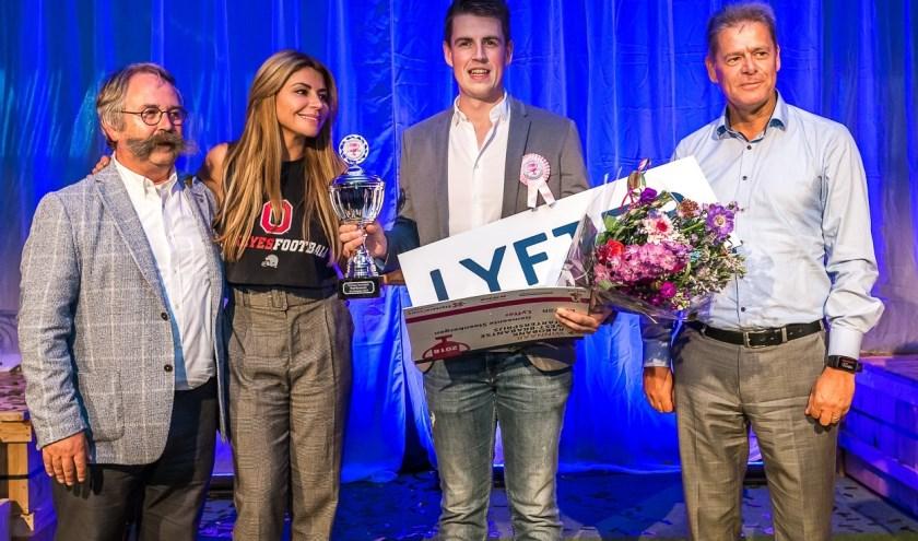 Eric Verheijen van Lyfter, winnaar Startersprijs 2018