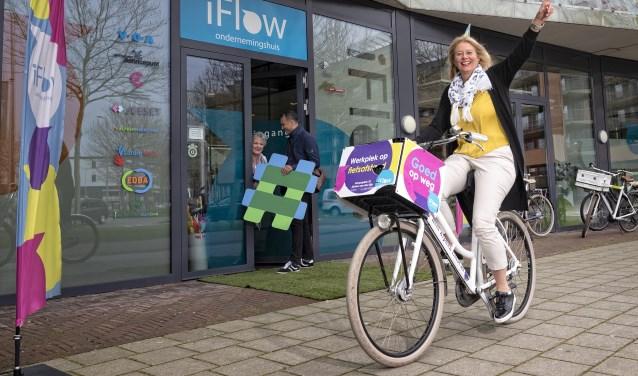 """""""iFlow is mooie ontmoetingsplek voor Alphense ondernemers en zzp-ers."""""""