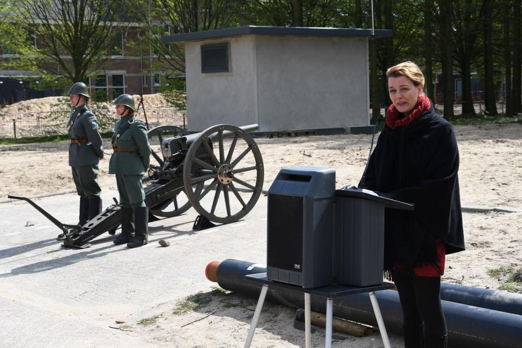 wethouder Veltman opende de Historische Middag Foto: Bert Vos © Persgroep
