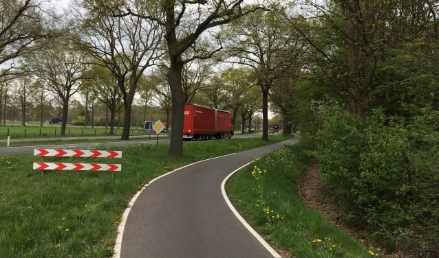 Na reconstructie van de N65 mag langzaam verkeer deze weg niet meer op. De ZLTO en de groenbedrijven bepleiten daarom parallelwegen.