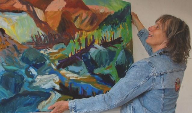 Sophie Bekkering exposeert in kunstfabriek De Transformatie.