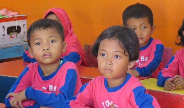 Leerlingen van scholen die door Stichting Tileng worden ondersteund.
