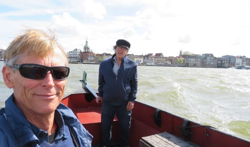 René Kerkhoven en Jaap Bouman.
