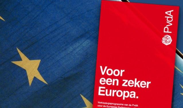 PvdA verkiezingsposter