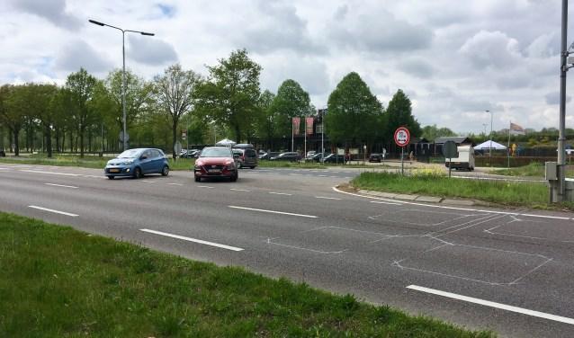 De kans is klein dat de afslag op de N65 bij restaurant In 't Groene Woud gehandhaafd blijft.