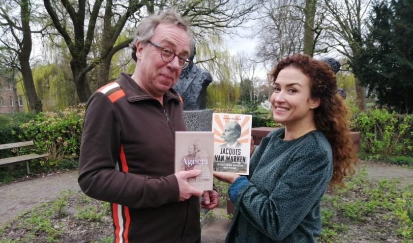 Jan van der Mast met Katja Schuurman.