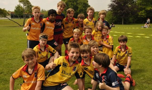 SRFC U10 teams trots op tweede en derde plek op eigen rugbytoernooi.
