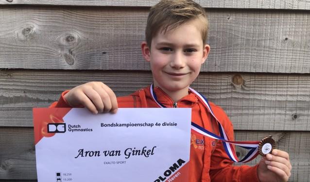Turntalent Aron van Ginkel. (Foto: Max Koops)