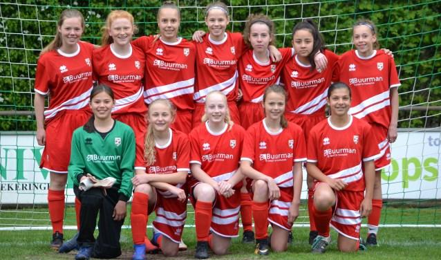 FC Berghuizen staat bekend met een uitstekende aandacht voor meidenvoetbal.