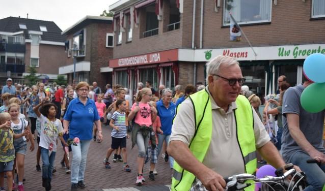 Gezellig samen vier avonden lopen in de gemeente Wierden. Foto: Jolien van Gaalen.