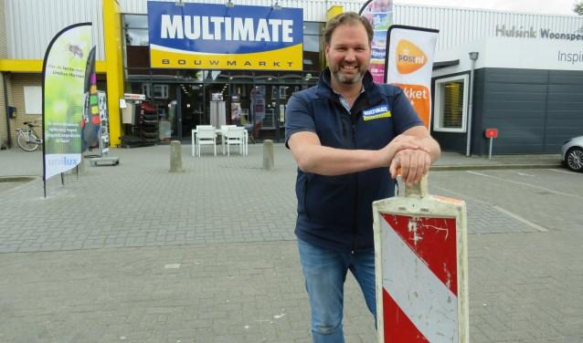 """""""Ik schat dat het aantal klanten sinds de eerste dag van de wegafsluiting met de helft is afgenomen"""", zegt Bas Hulsink van Multimate."""