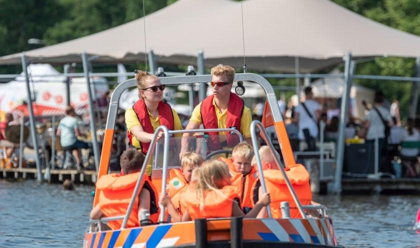 Er is tijdens het Lageveld Festvial voor jong en oud veel te beleven. Foto: Hans Hodes