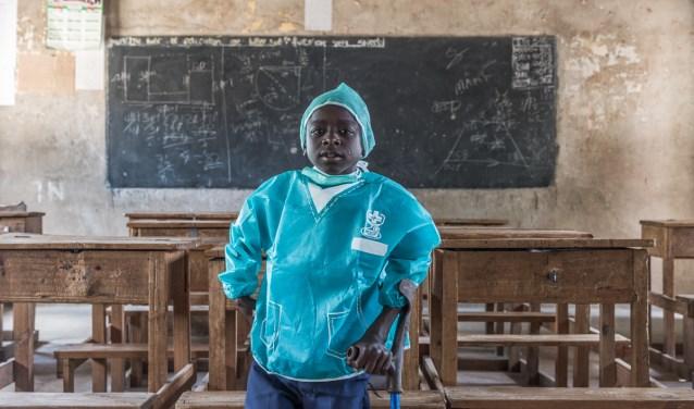Sempeta (12) uit Kenia [Foto: Ronnie Dankelman]