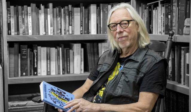 Vrijdag verschijnt het vijfde boek van Frans Hagendoorn: Rock da Hoogovens. Foto: Jasmijn Stikvoort Photography