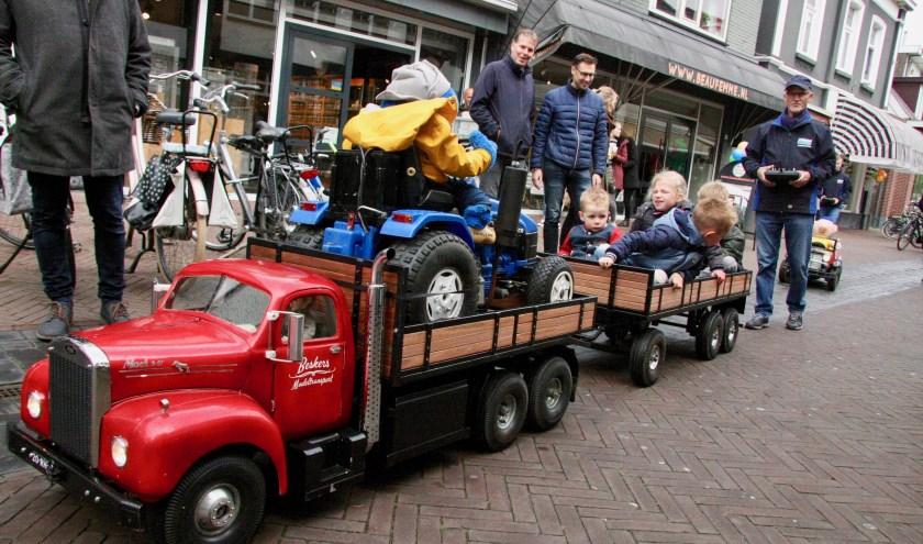 Modeltrucks op Kidsdag Lichtenvoorde. Foto: Eveline Zuurbier