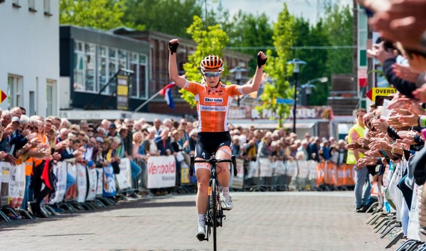 Amy Pieters won al in 2017 en 2018 in Lekkerkerk.