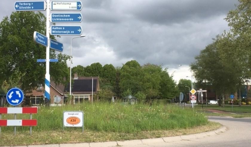 Rotonde in Varsseveld.