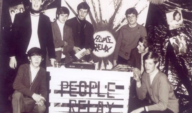 De oprichters van jongerensocieteit People Relax. Foto: Louis van Pul.