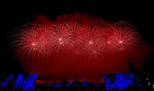 De show uit Berlicum zorgde voor spektakel in China.