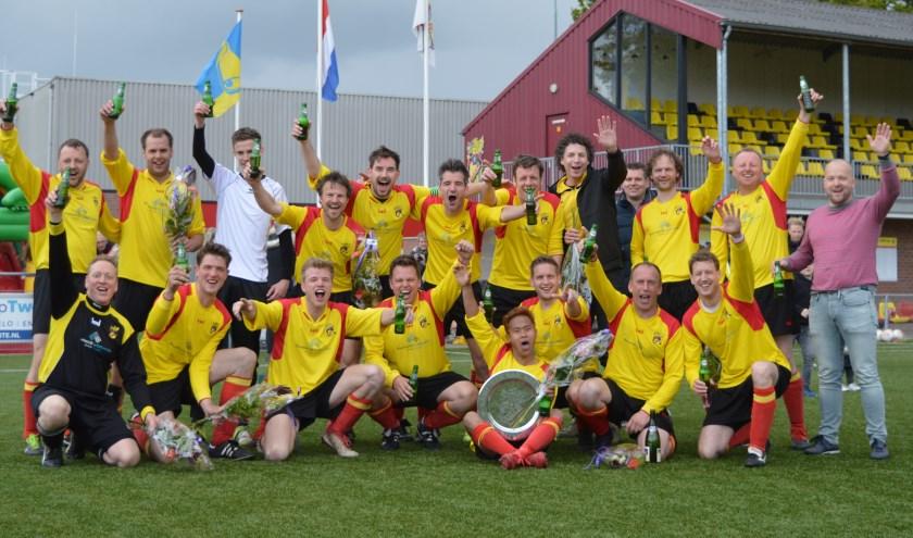 VIOS Beltrum4 heeft afgelopen zondag het kampioenschap in de 5e klasse behaald.
