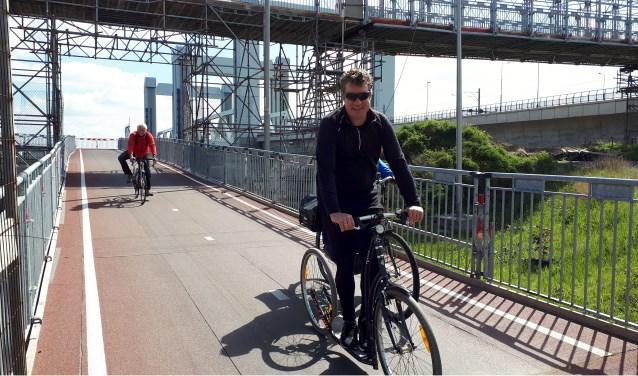 De New Yorksteppers zijn in training voor hun rit naar Antwerpen. Op de step staat Nick Gardenier. Foto: Joop van der Hor