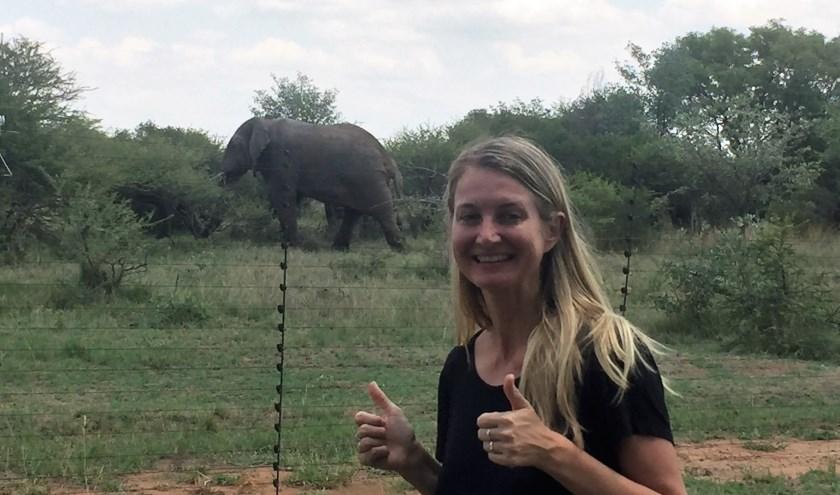 Antoinette van de Water neemt het op voor de prachtige wilde olifant.