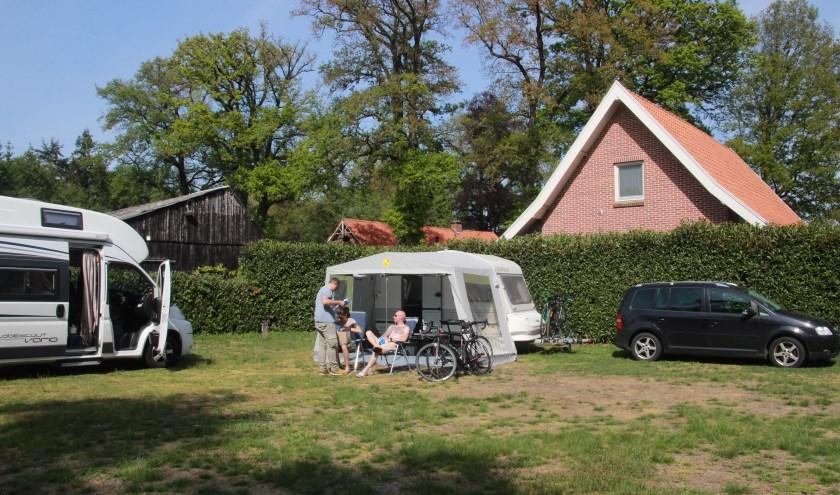 Jolanda ter Haar runt met veel plezier de minicamping Erve Henderiks Hoeve