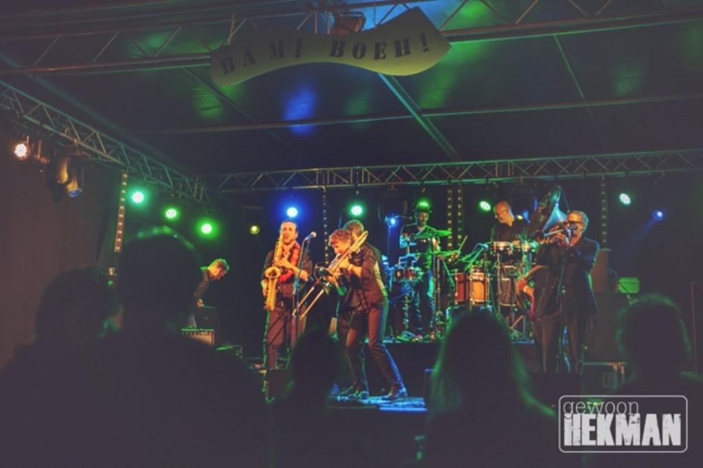 band tijdens het festival Foto: Jeannette Hekman © Persgroep
